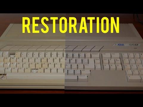 Atari 1040STF Restoration Project - Part 1