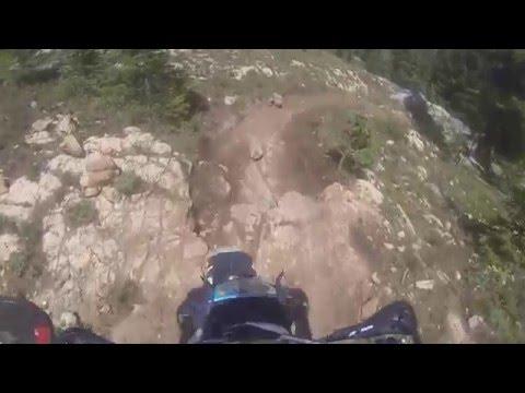 Down Cement Creek Heading to Dead Man's Gulch