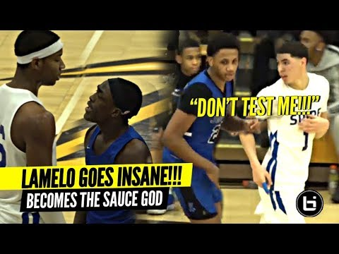 'DON'T TEST ME!!' LaMelo Ball GETS MAD & Becomes The SAUCE GOD!!! Insane PASSES!