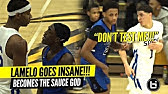 &quotDON&#39T TEST ME!!&quot LaMelo Ball GETS MAD &amp Becomes The SAUCE GOD!!! Insane PASSES!