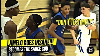 """DON'T TEST ME!!"" LaMelo Ball GETS MAD & Becomes The SAUCE GOD!!! Insane PASSES!"