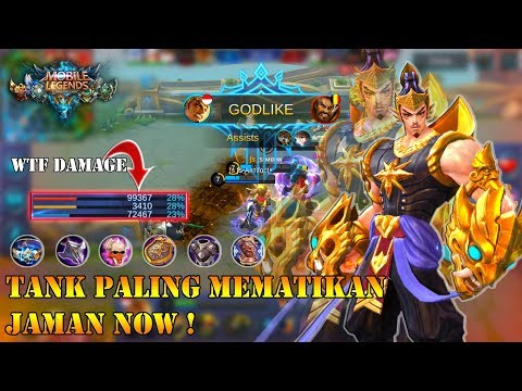 Tank Paling Mematikan Jaman Now ! | Build & Gameplay By Fs Meow | Mobile Legends