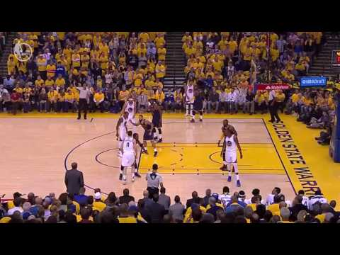 One play that perfectly depicts LeBron's luck during the KD warriors era.