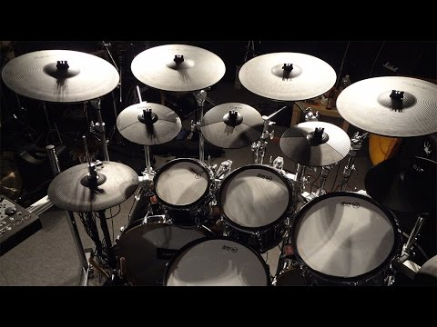 Badass Metal Drumkit converted to E Drum