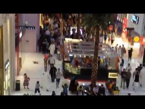 Dubai mall on eid day (2015)