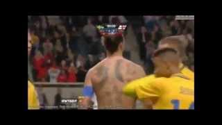 TOR DES JAHRHUNDERTS - Zlatan Ibrahimovic | alle Kommentatoren | all commentators 14.11.2012
