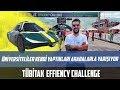 Üniversiteliler Kendi Yaptıkları Arabalarla Yarışıyor | TÜBİTAK Efficiency Challenge