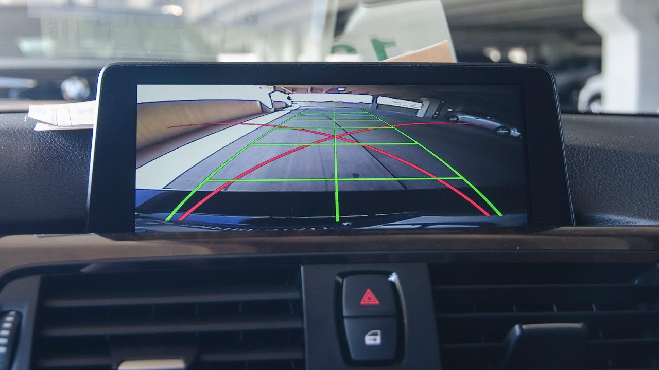 2015 BMW 4 Series Backup Camera and Video In Motion  YouTube