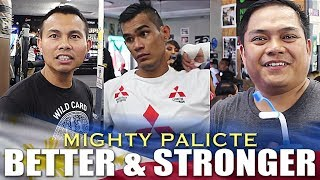 MAYOL & GODINEZ SAYS PALICTE IS NOW STRONGER AND MASTERED EVERYTHING FOR HIS FIGHT WITH NIETES