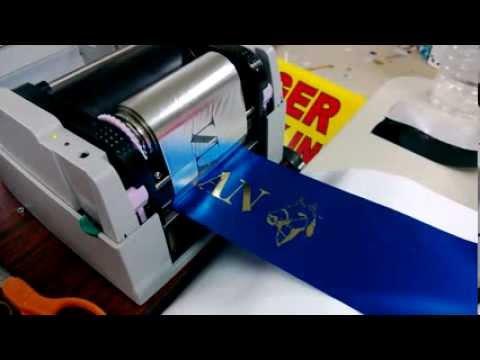 Термотрансферный принтер ADL108A  для печати на лентах