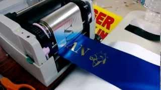 Термотрансферный принтер ADL108A  для печати на лентах(Представляет собой компактный настольный принтер, для прямой печати текста и графических изображений..., 2013-10-15T14:29:32.000Z)