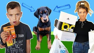 BUYING Anything the PUPPY touches!!   Puppy NAME Announcement!