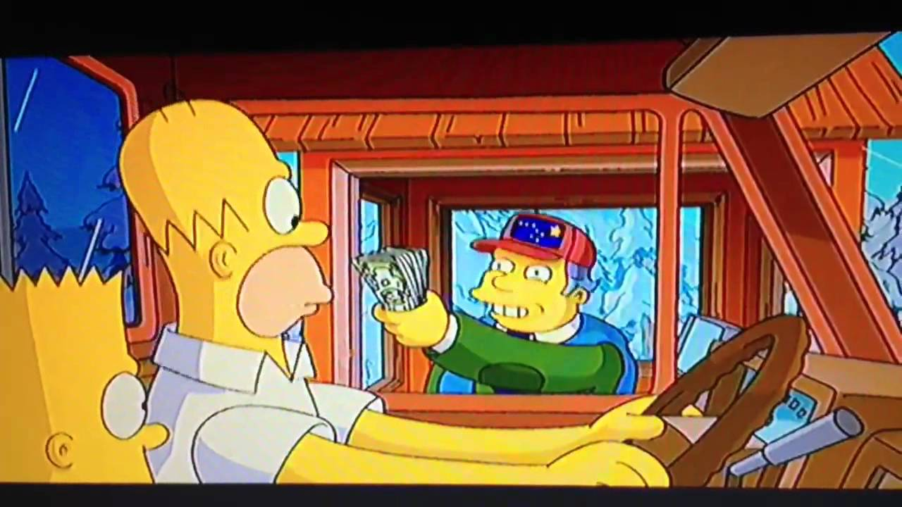 Alaska S Big Parodied In The Simpson S Movie While Albertans Call For Their Own Dividend From 2007 Bien Basic Income Earth Network