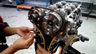 TOYOTA TIMING CHAIN HILUX(CARA MASANG TIMING CHAIN
