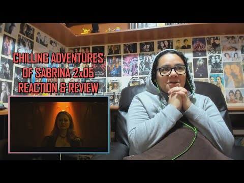 "Chilling Adventures of Sabrina 2x05 REACTION & REVIEW ""Chapter Sixteen  Blackwood"" S02E05 