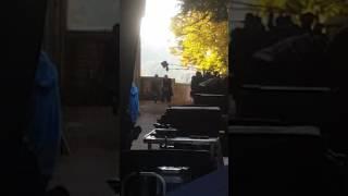 Scène de tournage nos patriotes