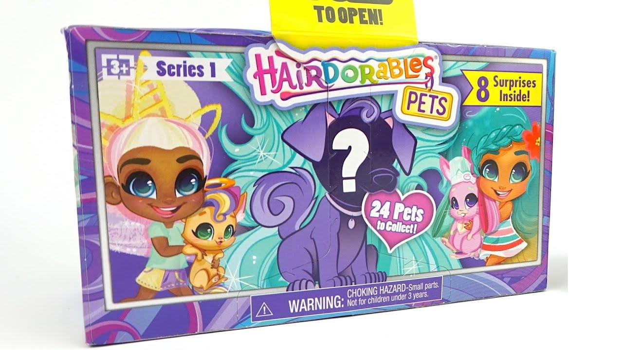 Хэрдораблс сюрпризы и игрушки. Куклы и Питомцы