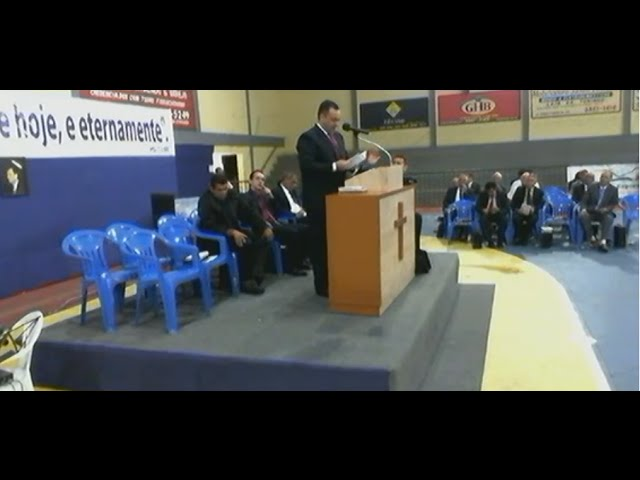 20.02.2016 - Encontro Regional de Pastores em Boa Esperança/MG - Pr. Ederson José