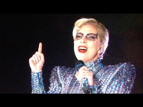 Lady Gaga Halftime Show - Hidden Message