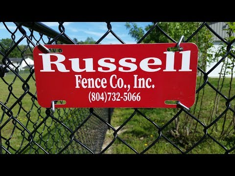 Russell Fence Co , Inc  The Best Fence Company For Your Money In Virginia By KVUSMC