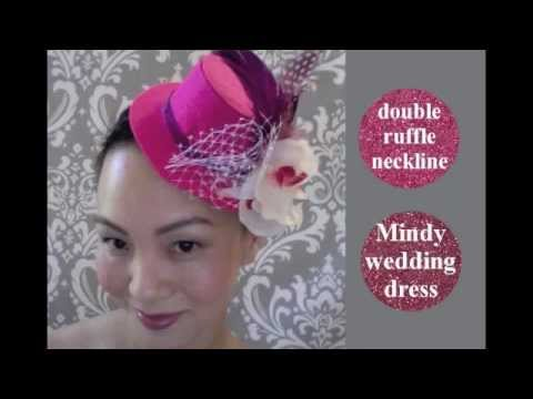 Liam How To Make A Mini Bridal Top Hat Youtube