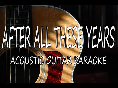 Camila Cabello - After All These Years (Acoustic Guitar Karaoke)