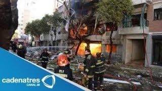 Explosión de tanque de gas causa una muerte en Nezahualcoyotl, Estado de México