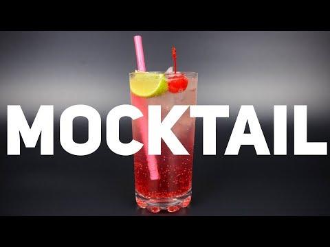 Безалкогольный коктейль Ширли Джинджер | Shirley Ginger Mocktail