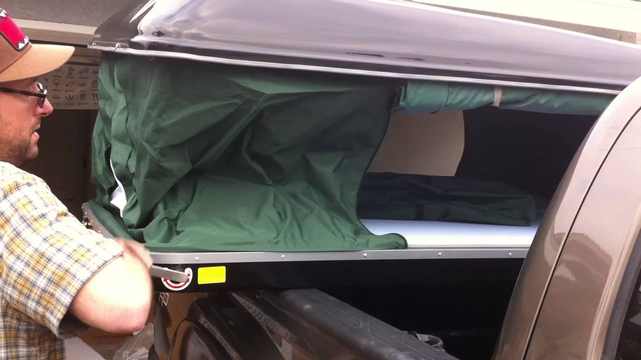 & Bigfoot Roof Top Tent - YouTube