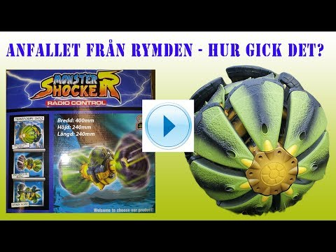Julklappstips - RC Monster Leksak Blir Anfallen Från Rymden from YouTube · Duration:  1 minutes 6 seconds
