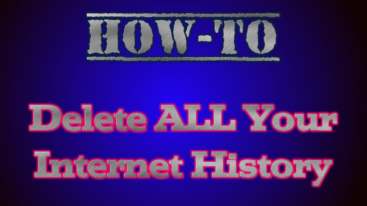 How to delete your Google history