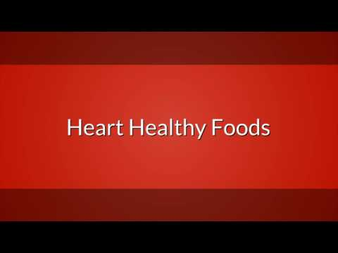 Chef Murph's Heart health Foods