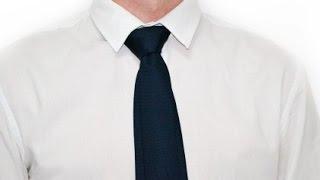 Как завязывать галстук узел Мюррелл How to tie a tie knot Murrell