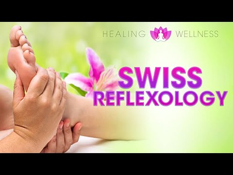 Swiss Reflex or Swiss Reflexology with Victoria Sprigg - Filmed & Produced by Liam Dale
