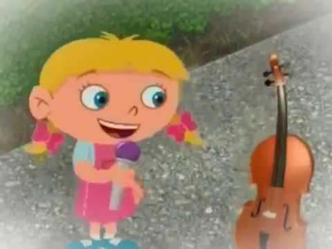 Kleine Einsteins Annie und das kleine lila Flugzeug Hallo Cello