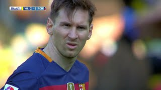 Lionel Messi vs Villarreal (Away) 15-16 HD 720p - English Commentary
