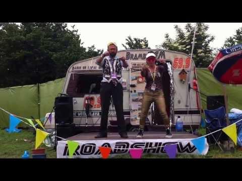 Bramble FM in Cars - Glastonbury Festival 2013