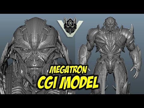 Transformers: The Last Knight Megatron CGI Model Revealed