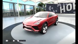 Forza Horizon 3 Lamborghini Urus 360 degree view and circuit race