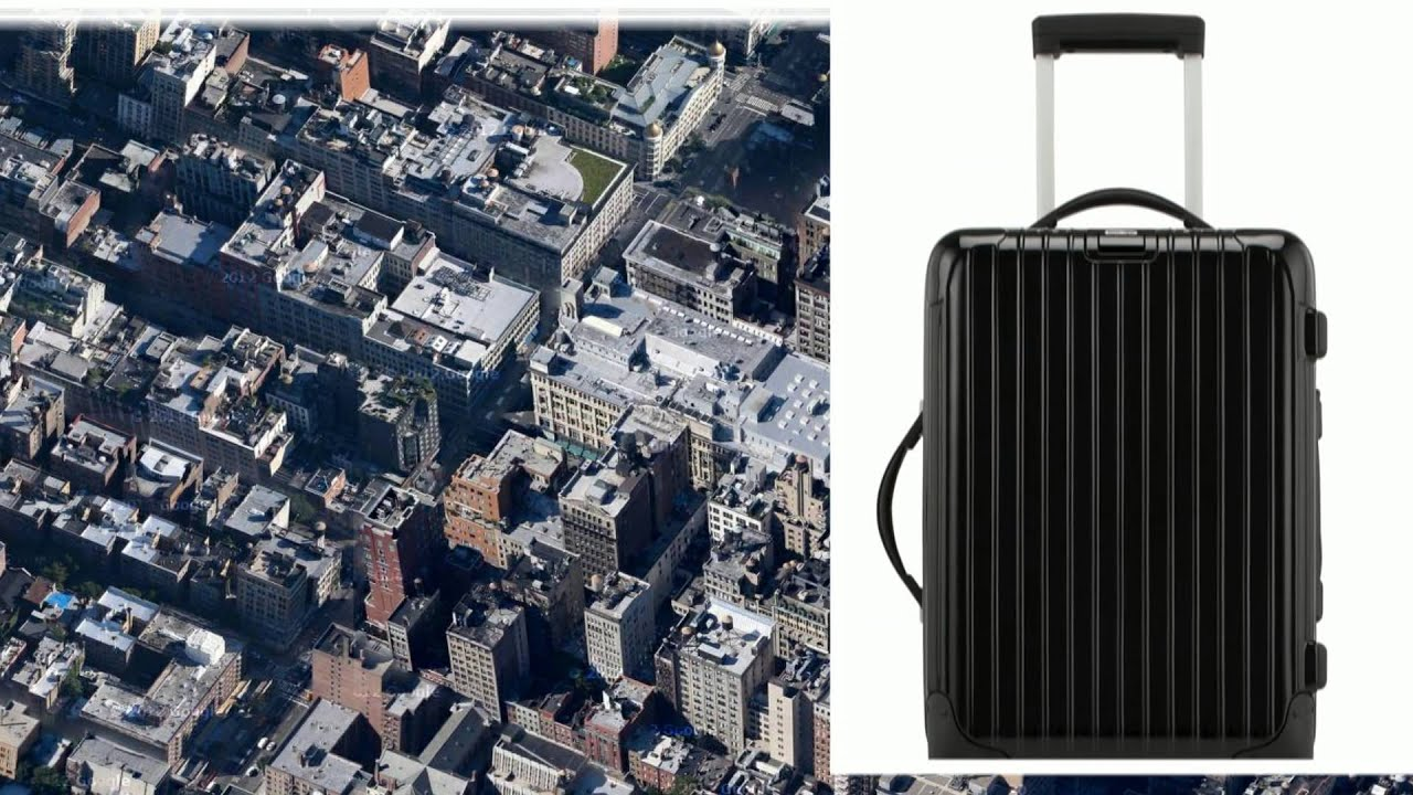 rimowa salsa deluxe cabin trolley iata youtube. Black Bedroom Furniture Sets. Home Design Ideas