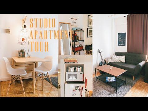 Studio Apartment Tour : 350 square feet