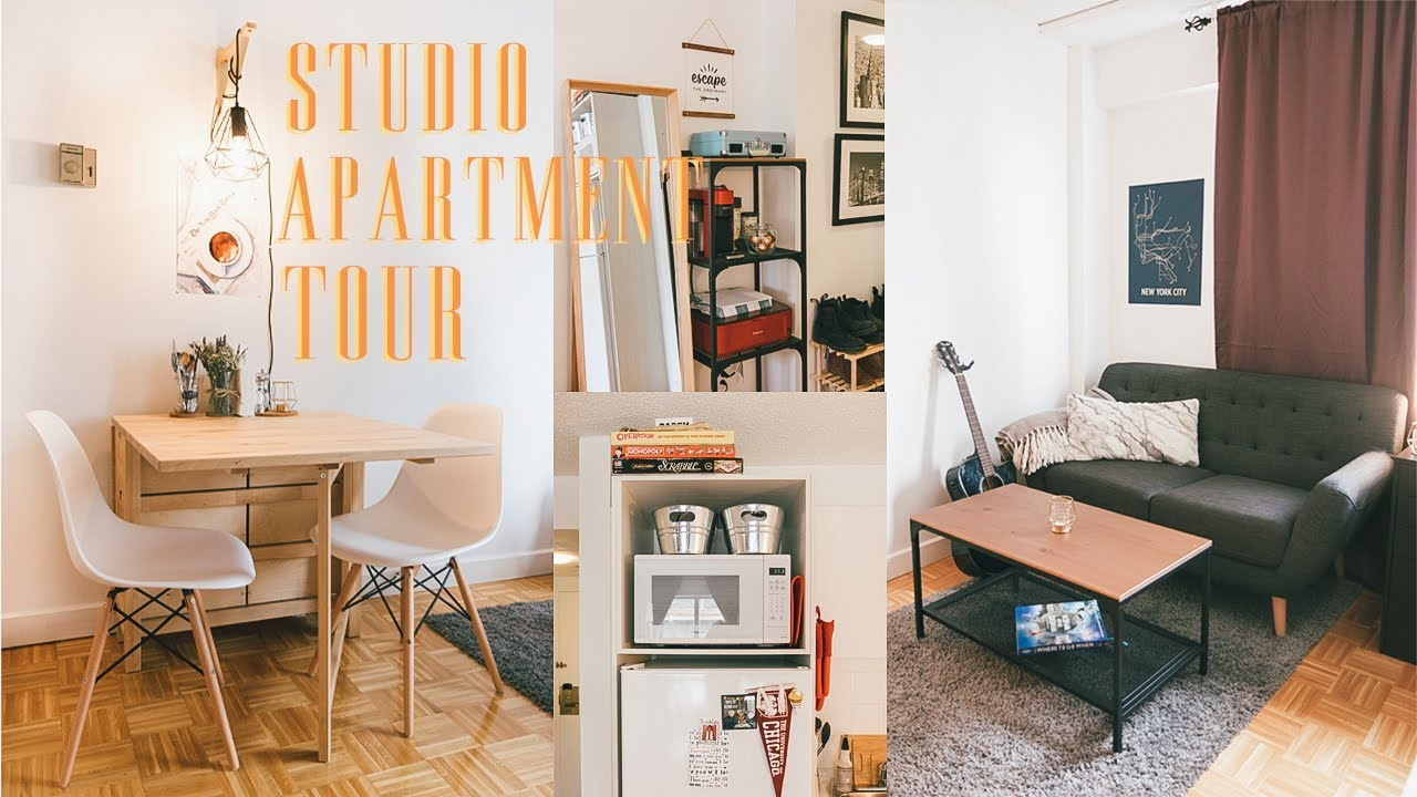 Studio Apartment Tour 350 Square Feet