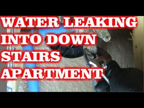FIXING A SHOWER VALVE LEAK - YouTube