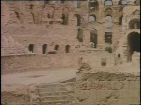 Roman Amphitheatre -  El Djem - Tunisia - 1981