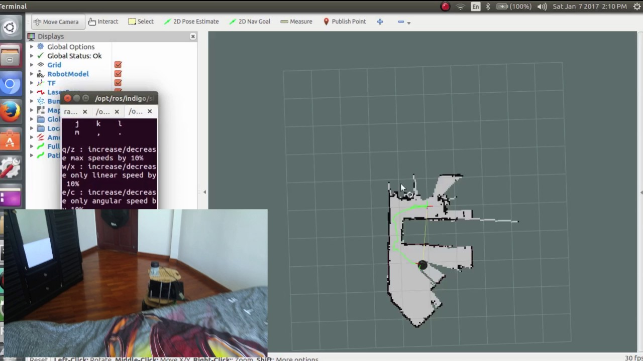 Map Building using Hector Slam and RPLidar A2