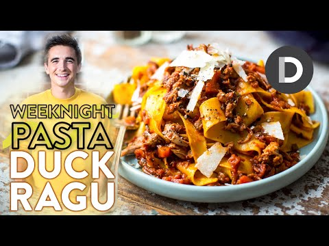 The BEST Duck Ragu Pasta!