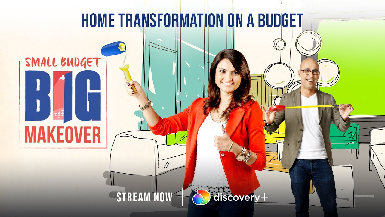 Renovate on a budget | Small Budget Big Makeover | discovery+