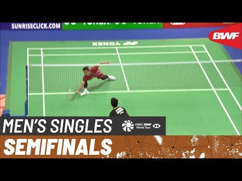 SF | MS | Jonatan CHRISTIE (INA) [6] vs. Anthony Sinisuka GINTING (INA) [8] | BWF 2019