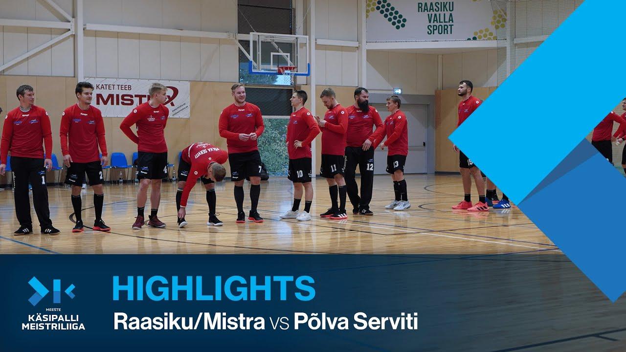 HIGHLIGHTS | Raasiku/Mistra - Põlva Serviti | Round 1 | Estonian Champions League 2021/22