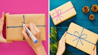 16 GENIUS GIFT WRAP IDEAS THAT WILL SAVE YOU SOME CASH